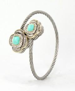 Clover Bracelet Turquoise Four Leaf Clover
