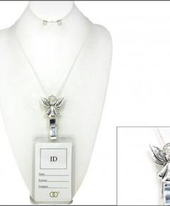 Badge Id Holder Lanyard Angel