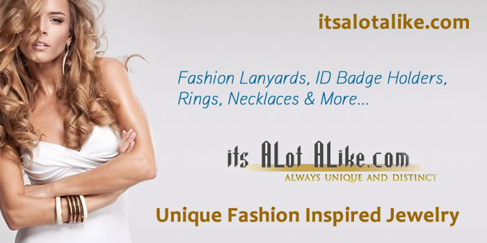 You will be amazed at the prices you are paying for this quality inspired jewelry, lanyards and fashion accessories.