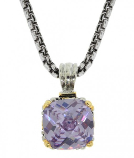 Designer Like Lavender Necklace