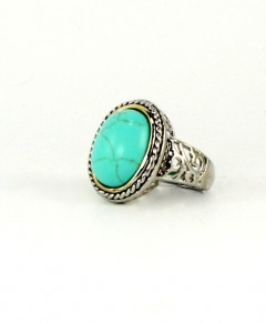 Fabulous Oval Turquoise Ring