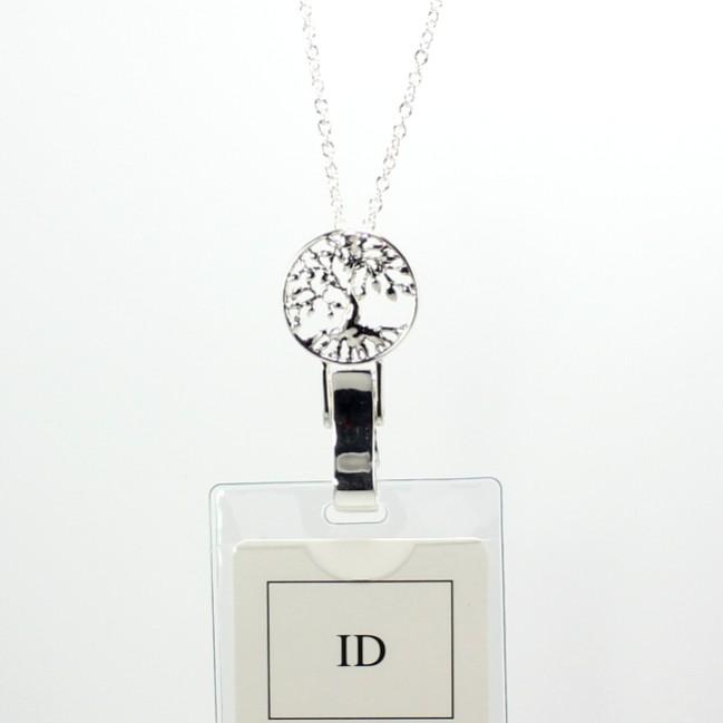 Christian Lanyard Badge Holder Id Holder Tree of Life Pendant N0044