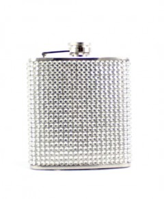 Hip Flasks Rhinestone Flask 6 Ounces