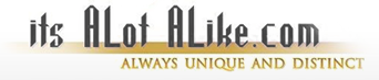 itsalotalike.com Always Unique And Distinct.