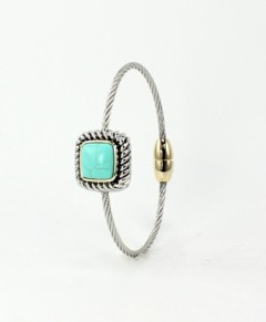 Turquoise Bracelet Magnetic Clasp