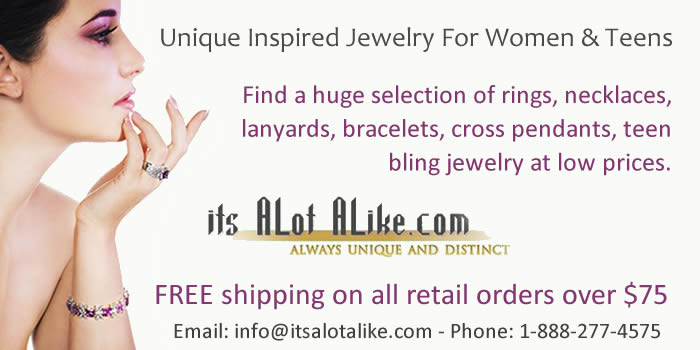 Inspired Jewelry for Girls at Low Retail Prices