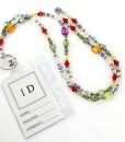 Lanyard Beaded Id Holder Eyeglass Holder