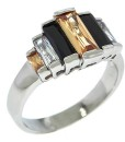 Art Deco Jewelry Ring Multi Stone