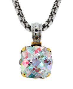 Aurora Borealis Pendant Necklace Sparkle Inspired